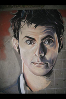 David Tennant Chalk by joleighwhite