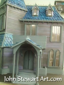 Addams family model house for sale by johnstewartart