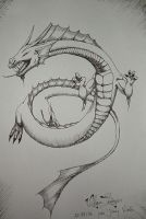 Chinese Dragon by FlamSlade