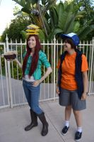 The Appetite of a Lumberjack: Wendy and Dipper by RedVelvetCosplay