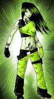Shego's new outfit by ShadowOfSilent
