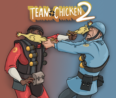 TF2: Chicken Fortress 2 by sparkyHERO
