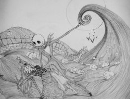 The Nightmare Before Christmas - Death's Waltz by Inubaki