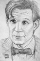 Matt Smith by The-Tinidril