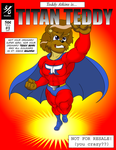 Titan Teddy Comic Cover by Natter45