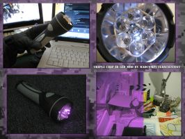 IR LED Flashlight Mod by madcomputerscientist