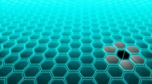 Hive Tech Wallpaper Blue by Aexease