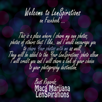 Welcome .. by LenSpirations