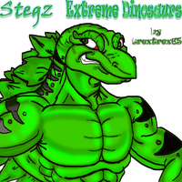 Stegz Extreme Dinosaurs by trextrex65
