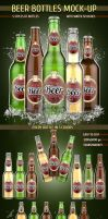 Beer Bottles Mock-Up by kotulsky