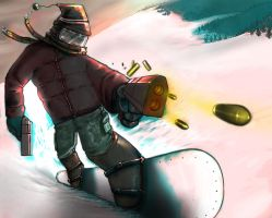 The Invincible Snowboard Kid by yonaz