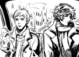 Sherlock+Harry Watson is my sister by xanseviera