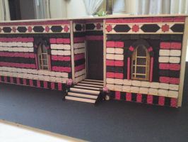 classic damascus house maquette by merage
