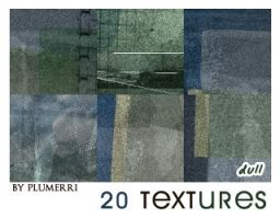 20 Textures - Dull by plumerri