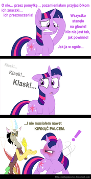 Sposob na wtope (Magical Mystery Goof-Up PL) by Lyokoheros