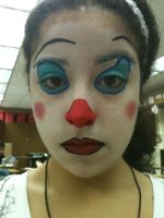 Traditional Clown Makeup by deadpool24