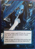 Magic the Gathering Alteration: Remand by Ondal-the-Fool