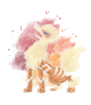Gift: Fire Type, But Made Out of Water by Flipfox00