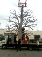Tree Sculpt for Grammys by TimBakerFX