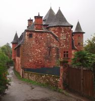 Collonges 08 - Manor by HermitCrabStock