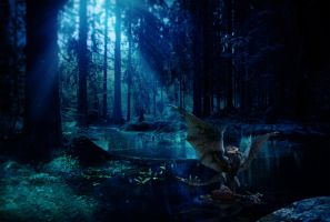 Deadland woods by Justass