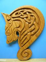 Celtic Wolf by TradArcher