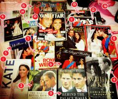 Will and Kate Book Collection by flowerlikesmiles