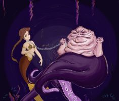 Leia the Little Mermaid by Che-Crawford