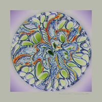 Mandala Variations No.14c by butterpaw