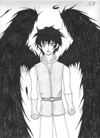 Black Winged Angel by Soldiers-of-Legacy