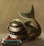 Land Shark - SP by Cryptid-Creations