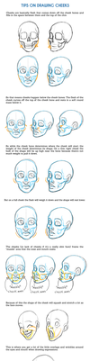 Tips on Drawing Cheeks Tutorial by SarahCulture