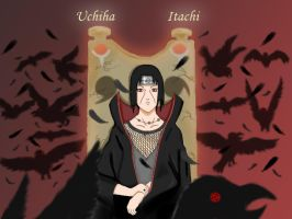 Itachi : Master of Ravens by opalcious