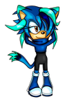 Azure The Cat COMM Obsiddy by S-A-V-A-N-A