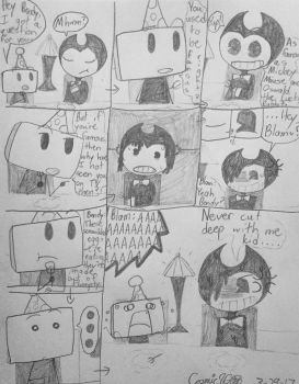 You Were Famous Once? (ONAF + BaTIM) by Cosmic86