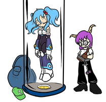 Reploidification of Nitori coloured by ChaosOverlordZ
