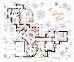 The Golden Girls House floorplan v.2 by nikneuk