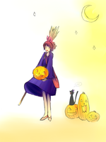 Kiki's Halloween by Syon-Ri