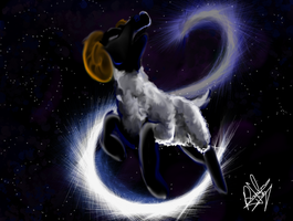 Aries and Galactic Snape by Amiki-Zorsez