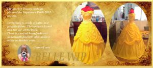 Belle WIP (Beauty and the Beast) by GunnerYunie