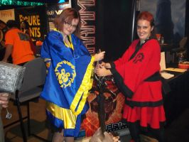 Horde Vs Alliance Wa Lolita by DarkMichiko