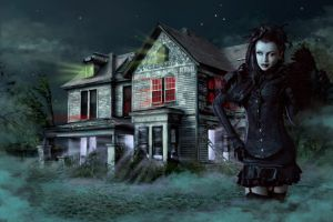 Vampire House by ICH-to-Beefree