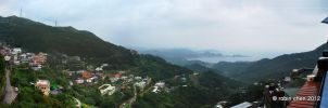 Rainy Day at Jiufen - Pano by meihua