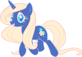 My ponysona Star Flower by Rainseed
