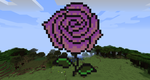 MineCraft Flower by Dragondud