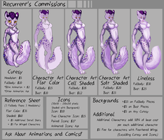 Commission Sheet 2015 by TheRecurrent