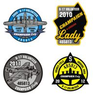 B-17 Volunteer Patches by robertllynch