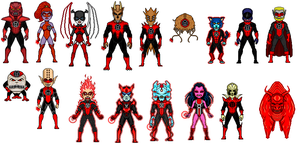Red lantern corps by digikevin10
