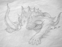 A typical sea monster I guess? by mogulyan