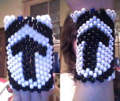 Above the influence Kandi cuff by LaurenDSizzle